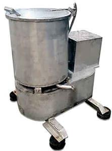 دستگاه آبگیر سانتریفیوژ (سبدی) تمام استیل