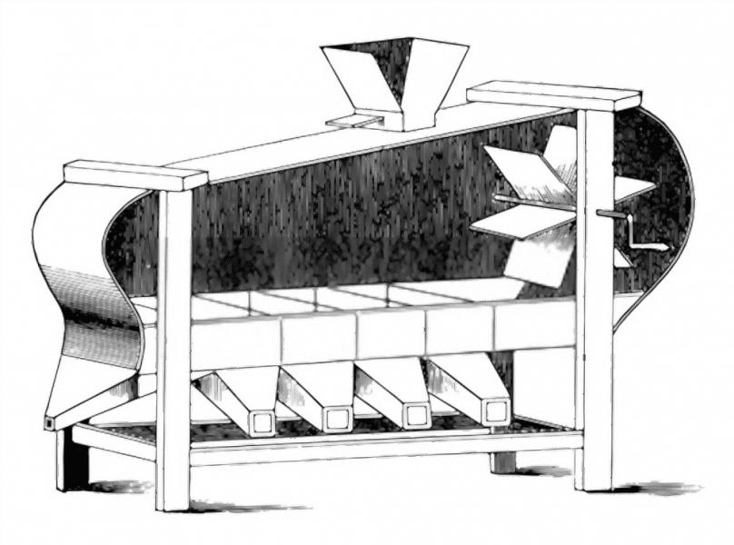 دستگاه بوجاری حبوبات اتوماتیک