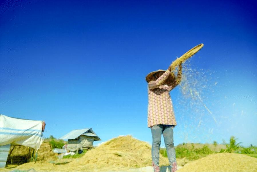 بوجاری دستی با باد